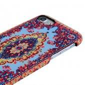 Wachikopa Apple iPhone 7 / 8 Kapak Saruhan El Yapımı Kilim Desenl-4