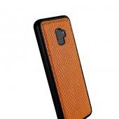 Wachikopa Samsung Galaxy S9 Plus Hakiki Deri Kapak Back Cover Ada-3