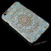 Wachikopa Apple iPhone 6 / 6S Kapak Alara El Yapımı Kilim Desenli-2