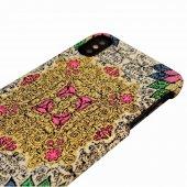 Wachikopa Apple iPhone X / XS Kapak Farsh El Yapımı Kilim Desenli-4