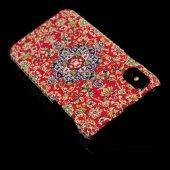 Wachikopa Apple iPhone X / XS Kapak Sesamos El Yapımı Kilim Desen-2