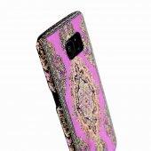 Wachikopa Samsung Galaxy S7 Kapak Bent El Yapımı Kilim Desenli Ku-3