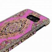 Wachikopa Samsung Galaxy S7 Kapak Bent El Yapımı Kilim Desenli Ku-5
