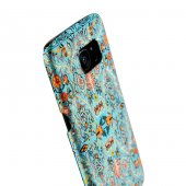 Wachikopa Samsung Galaxy S7 Edge Kapak Yenice El Yapımı Kilim Des-5
