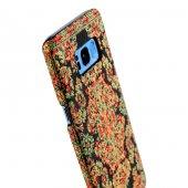 Wachikopa Samsung Galaxy S8 Plus Kapak Bodrum El Yapımı Kilim Des-5