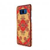Wachikopa Samsung Galaxy S8 Plus Kapak Hattuşaş El Yapımı Kilim D-3