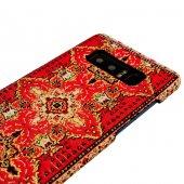 Wachikopa Samsung Galaxy Note 8 Kapak Sedir El Yapımı Kilim Desen-4