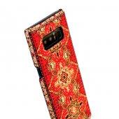 Wachikopa Samsung Galaxy Note 8 Kapak Sedir El Yapımı Kilim Desen-5