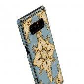 Wachikopa Samsung Galaxy Note 8 Kapak Selçuk El Yapımı Kilim Dese-5