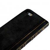Wachikopa Apple iPhone 7 / 8 Hakiki Deri Kılıf Book Case Cecile S-5
