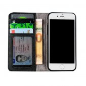 Wachikopa Apple iPhone 7 / 8 Hakiki Deri Kılıf Book Case Cecile S-8