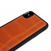 Wachikopa Apple iPhone X / XS Hakiki Deri Kapak Back Cover Port T-4