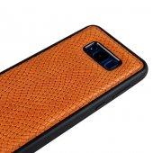 Wachikopa Samsung Galaxy S8 Hakiki Deri Kapak Back Cover Adams Ta-4