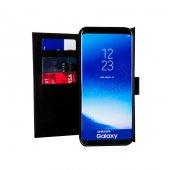 Wachikopa Samsung Galaxy S8 Hakiki Deri Kılıf Double Wallet Eva A-4