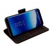 Wachikopa Samsung Galaxy S8 Plus Hakiki Deri Kılıf Library Dury A-4