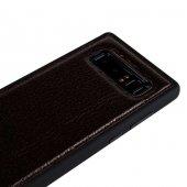 Wachikopa Samsung Note 8 Hakiki Deri Kapak Back Cover Bred Bordo-4