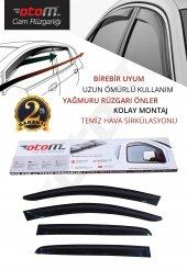 Otom Renault Symbol Sedan 2010-2013 Classic /4 PCS Cam Rüzgarlığı-3