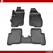 L.Locker Volkswagen T5-T6 3D Havuzlu Paspas-2