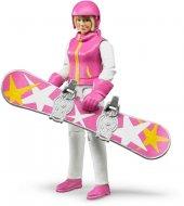 Bruder Snowboardcu Bayan Ve Aksesuarları 60420