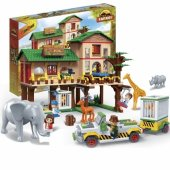 Lego Banbao 829 Parça Safari Eğitici Oyun Seti