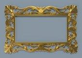 Papatya Ayna Cercevesı 70x100 Altın