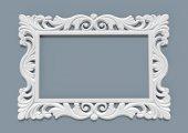 Zer Ayna Cercevesi 90x140 Beyaz