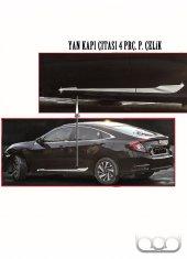 Honda Civic Yan Kapı Çıtası 4 Prç 2016 Sonrası  Bod