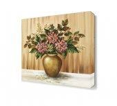 Saksı Çiçeği Canvas Tablo