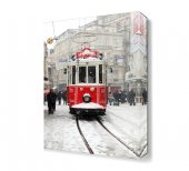 Taksim Tramway Karlı Hava Tablosu