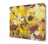 Sarı Tonları Çiçek Tabloları