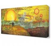 Dekoratif Bank Güneş Tablosu