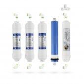 Kapalı Kasa Su Arıtma Cihazı 5li Filtresi LG Membran Seçenekli Set