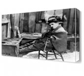 Charlie Chaplin Resolution Canvas Tablo