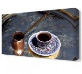 Türk Kahvesi Canvas Tablo