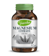 Voonka Magnesium Citrate 200 Mg 62 Tablet Skt 03.2021