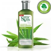 Natur Vital Sensetive Moisturising Şampuan 300 Ml Aloe Vera Nemle