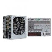 Eyfel Efs 2500 Real 200w Peak 250w 2*sata 12cm Fanlı Power Supply