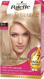 Palette Deluxe Saç Boyası 9.1 Küllü Sarı