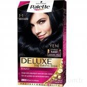 Palette Deluxe Saç Boyası 1.1 Gece Mavisi