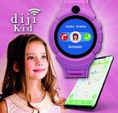 Dijikid  Akıllı Çocuk Saati - Yeni - Kameralı -6