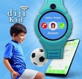 Dijikid  Akıllı Çocuk Saati - Yeni - Kameralı -8
