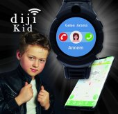 Dijikid  Akıllı Çocuk Saati - Yeni - Kameralı -9