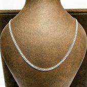 Gurmet 3 Mm 60 Cm Klasik Gümüş Erkek Zincir...