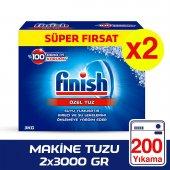 Finish Bulaşık Makinesi Tuzu 2x3000 Gr