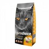 Yetişkin Kısır Kediler için Prochoice Tavuk Etli Mama 15 Kg