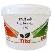 Tito Palm (Palmiye) Yağı (Toz Formda) 5 Kg