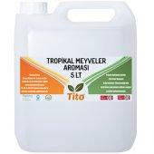 Tito Tropikal Meyveler Aroması Suda Çözünür 5 Lt