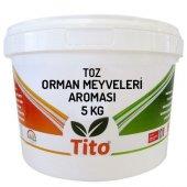 Tito Toz Orman Meyveleri Aroması Suda Çözünür 5 Kg