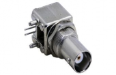 Bnc215 Bnc Dişi Pcb Tipi 90 Derece Konnektör Metal Kasa