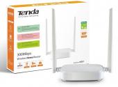 Tenda N301 300mbps 4 Port 2 Anten 5dbı 2.4gsz Indoor Wps Wds Router Ap